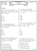 Common Core Math Test Prep {Number and Operations in Base Ten}