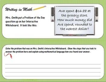 4th Grade Common Core Math Test Prep Packet