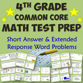 4th Grade Common Core Math Test Prep Packet