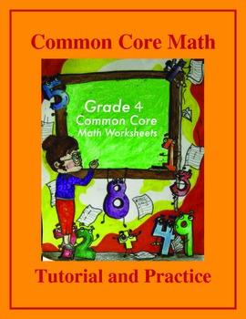 Grade 4 Common Core Math Tutorial and Practice Value Bundle