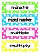 4th Grade Common Core Math Vocab Cards
