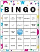 4th Grade Common Core Math Vocabulary Bingo