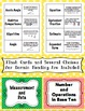 4th Grade Common Core Math Vocabulary Word Wall and More (Polka Dot Edition)