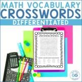 4th and 5th Grade Common Core Differentiated Math Vocabula