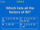 4th Grade Common Core Math - Whole Number Factor Pairs & P