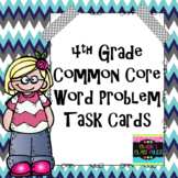 4th Grade Common Core Math Word Problems