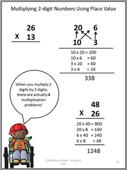 4th Grade Common Core Modeling Multiplication