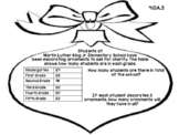 4th Grade Common Core Open Ended Christmas Math Assessment Task (Ornament)