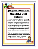 4th Grade Common Core ELA Yearlong Review