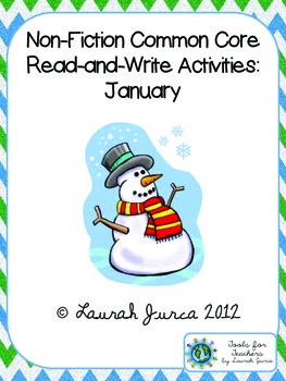 Non-Fiction Common Core Close Reading and Writing: January