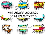 4th Grade Common Core-Reading Foundations Comic Book Style
