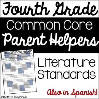 4th Grade Common Core Reading Literature Parent Helper -al