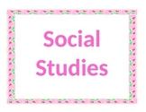 4th Grade Common Core Social Studies Essential Questions
