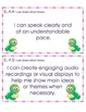 4th Grade Common Core Student Friendly Speaking & Listening Objectives