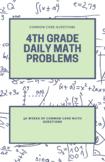 36 Full weeks -Daily Spiral Math - 4th Grade
