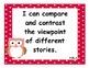 4th Grade Common Core State Standard: Language Arts I Can