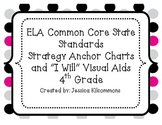 4th Grade Common Core State Standards ELA Anchor and Visual Aids