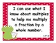 4th Grade Common Core State Standards Math I Can Statements - Frog Theme
