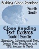 4th Grade Common Core: Tools for Close Reading, Assessment & Reading Response