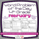Word Problems 4th Grade, February, Spiral Review, Distance