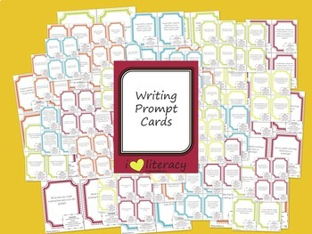 Writing Prompts 4th Grade Common Core Year-Long Mega Bundle