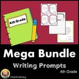 Writing Prompts 4th Grade Common Core Year-Long Mega Bundle