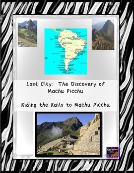 Common Core/PARCC Writing Prompt:  The Lost City