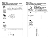 4th Grade Complete Module 1 Lesson 1-17 Journal Pages Enga