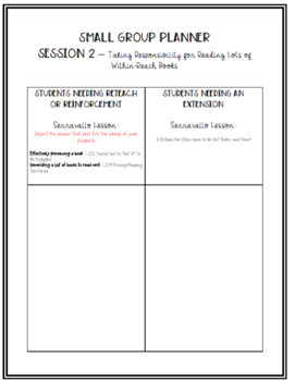 4th Grade Conferring Plans and Small Group Planner: Interpreting Characters