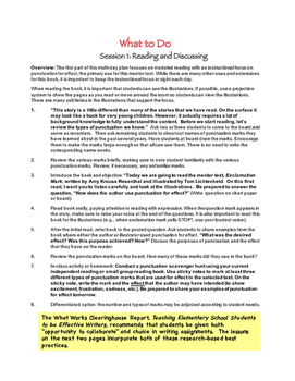 4th Grade Conventions TRAIT: Writing Unit using EXCLAMATION MARK (mentor text)