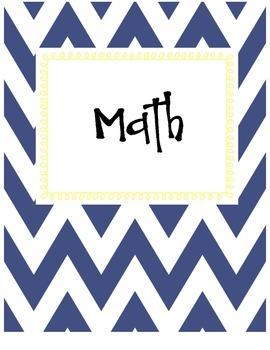4th Grade Cutesy Common Core Printable