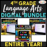 4th Grade DIGITAL Language Arts BUNDLE | Google Classroom