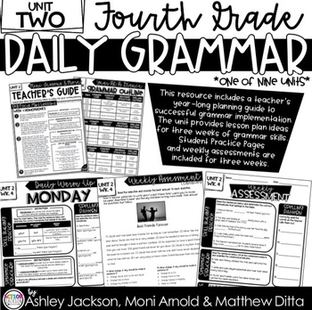 4th Grade Daily Grammar Unit 2