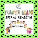 4th Grade Daily Reading Homework | Reading Comprehension P