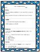 4th Grade Daily Language Spiral Review Homework- FREEBIE