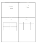 4th Grade Daily Math Review Pages