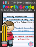 4th Grade Daily Writing Activities Morning Work