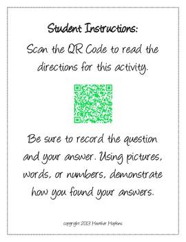 4th Grade Decimal QR Codes - 4.NF.6 & 4.NF.7