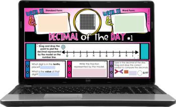 4th Grade Decimal of the Day