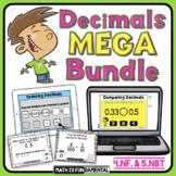 4th Grade Decimals Mega Bundle