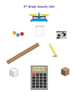 4th Grade Density Unit - 10 Days