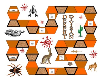 4th Grade Desert Division Game for Common Core