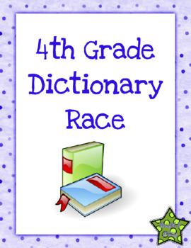 4th Grade Dictionary Race