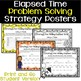 4th Grade Differentiated Task Cards - Problem Solving with Elapsed Time