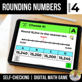 4th Grade Digital Math Game | Rounding Numbers | Distance