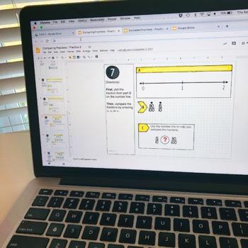 4th Grade Paperless Math Centers - Google Classroom™ Activities