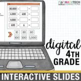 4th Grade Google Classroom Math Activities | Distance Learning Google Slides