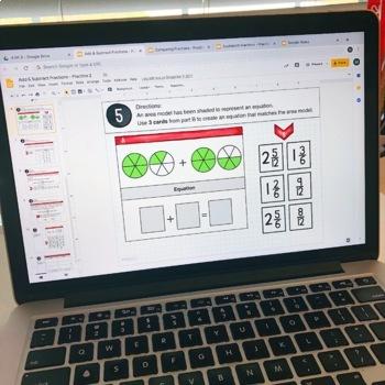 4th Grade Google Classroom Math Activities   4th Grade Digital Math Centers