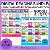 4th Grade Digital Reading Bundle: Fiction and Nonfiction f