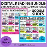 4th Grade Digital Reading Bundle: Fiction and Nonfiction f